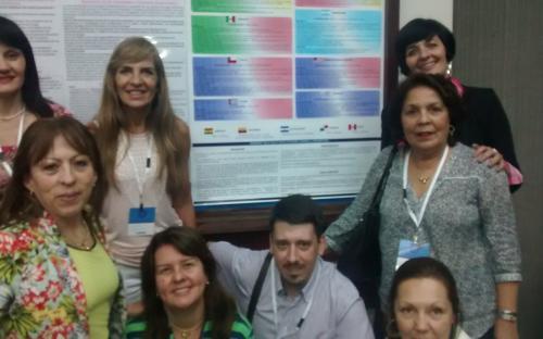 Integrantes de la Red Internacional de Enfermería y Seguridad de los Pacientes - RIENSEP